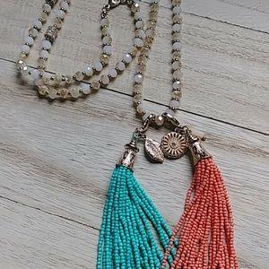 Premier Designs fringe necklace
